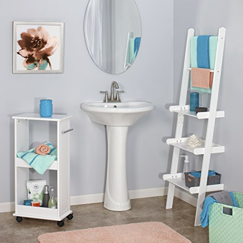 RiverRidge Home Ladder Shelf, White durable service