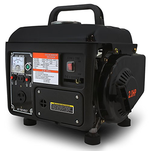 XtremepowerUS 1200 Watt 2-Stroke Portable Gasoline Gas Electric Power Generator X5060