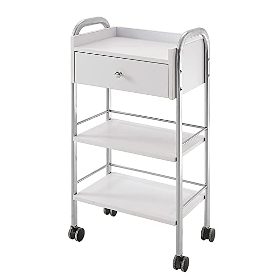 Amazon.com: Beauty trolley Nationwel, Multi-Tool Cart Three Floors with Drawers, Beauty Cart, Tattoo Cart, Load 30 Kg: Home & Kitchen