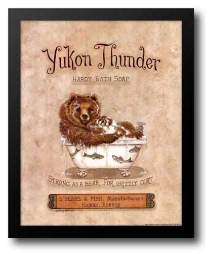(Yukon Thunder 15x18 Framed Art Print by Jennings, Kathy)