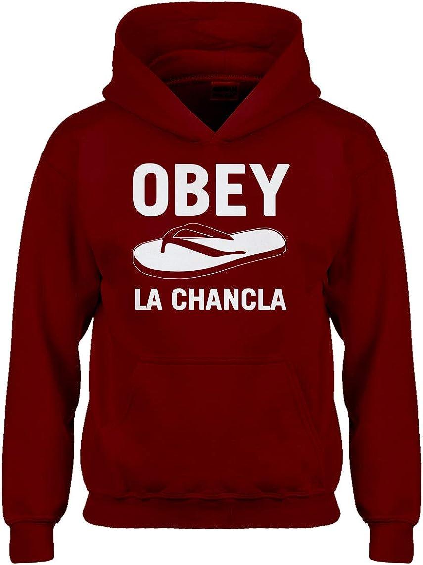 Kids Hoodie Obey La Chancla Youth XL Red Hoodie 14