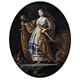 Canvas Prints Of Oil Painting ' Goya Y Lucientes Francisco De Santa Barbara Ca. 1773 ' , 24 x 31 inch / 61 x 78 cm , High Quality Polyster Canvas Is For Gifts And Bar, Basement And Hallway Decoration