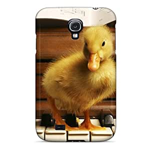 Tpu Case For Galaxy S4 With Duck Music