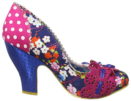 Bleu Aj Choice Pink Make Blue Day Irregular Escarpins fermé Femme Bout My P8APqgSdw