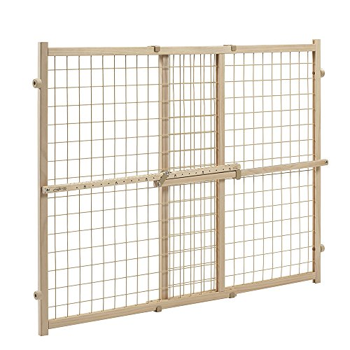 Evenflo Position and Lock Tall Pressure Mount Wood Gate (expands from 31- 50 inches) ()