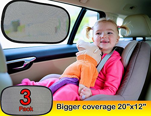 Kinder Fluff Car Window Shade Extra Large  Pack