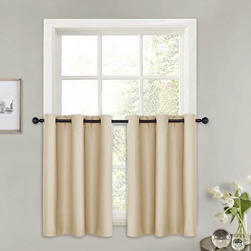PONY DANCE Window Curtain Valances - Kitchen Tier Elegant Ro