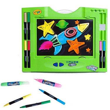 32 Piece Crayola Glow Board 3-D Explosion Set by Crayola