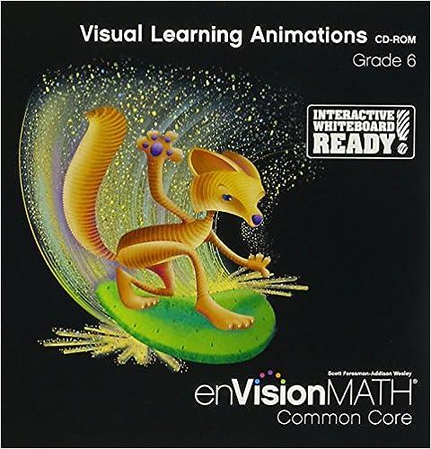 envision math common core grade 6 teacher edition