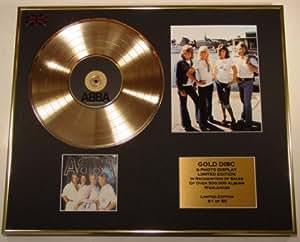 ABBA/CD Disco de Oro/Disco & Foto Display/Edicion LTD/Certificato di autenticità/THE NAME OF THE GAME