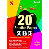 Xam Idea 20 Plus CBSE Sample Papers Science Class 10 for 2019 Exam