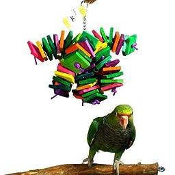 Bella BirdCo Kito Toy - 10 Strand Bird Toy