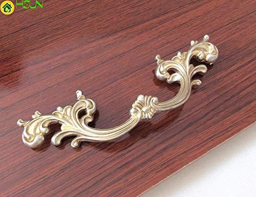(Rustic Dresser Pulls Drawer Knobs Handles Cottage Kitchen Cupboard Pulls Hardware/French Cabinet Handles Knob Ornate - (Size: L) )