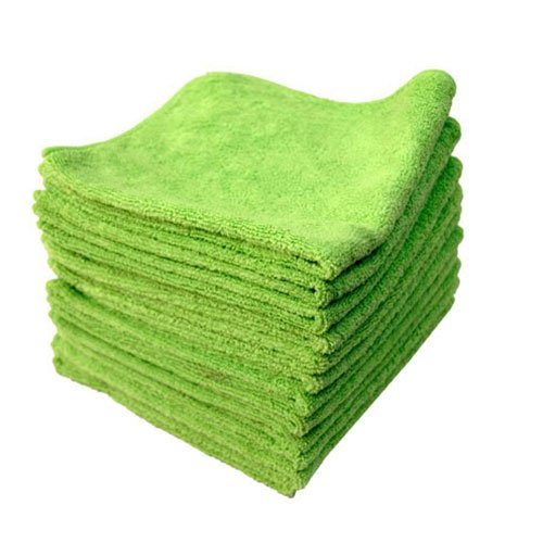 Chemical Guys MIC_333_12 El Gordo Professional Extra Thick Supra Microfiber Towels, Green (16.5 in. x 16.5 in.) (Pack of 12)