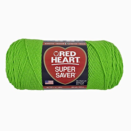 Fun Easter Basket Crochet Patterns - Free & Paid - Yarn Red Heart Super Saver 0672 Spring Green 7 oz - 198 g - 364 yds