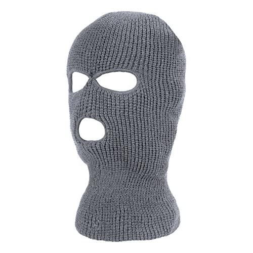 38fd14085d0 Satinior 3-Hole Knitted Full Face Cover Ski Mask