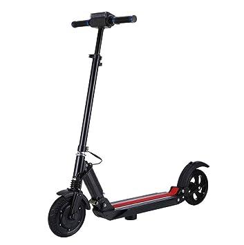 XHEMA Scooter eléctrico portátil Plegable de Dos Ruedas ...