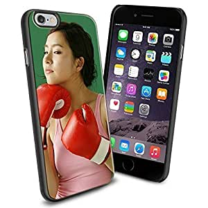 Lady Boxer, Boxing Girl, Cool iPhone 6 Case Cover Collector iPhone TPU Rubber Case Black by runtopwell