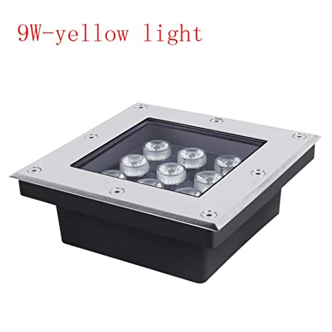 KMYX 9W LED incrustado enterrado Luz de Escalera de Piso de luz ...