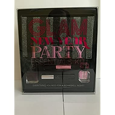 Victoria Secret Bombshell Glam New Year Party Esentials 6 Pc Kit