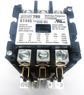 51uApckkC1L._AC_UL320_SR278320_ mars 61445 (direct replacement of furnas 42cf35aj) contactor 3 mars 780 contactor wiring diagram at gsmx.co