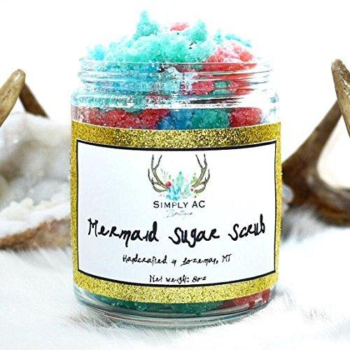 Exfoliating Tropical Mermaid Sugar Body Scrub
