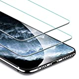 Electronics : ESR Screen Protector Compatible for iPhone 11 Pro Max,iPhone XS Max [2 Pack] [Easy Installation Frame] [Case Friendly], Premium Tempered Glass Screen Protector for iPhone 6.5 Inch (2019)