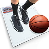"StepNGrip Model Courtside Shoe Grip Traction Mat - Basic Model with Sticky Mat - Uses Replacement 15""x 18"" Sheets, Allows Court Grip for Basketball Volleyball. Sticky Stop Power."