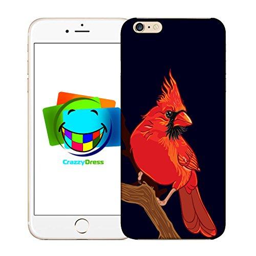 Bralexx 9212#_iPhone_6_6S_Birds_4 Schutzhülle für Apple iPhone 6/6S