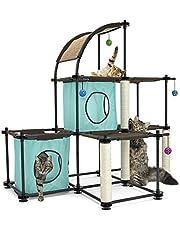 Kitty City Claw Mega Kit Cat Furniture, Cat Tree, Cat Modular Condo