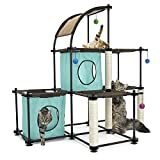 Kitty City Claw Mega Kit Cat Furniture - Cat Tree - Cat Modular Condo