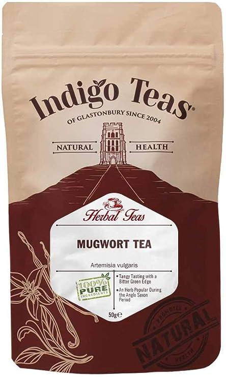 Indigo Herbs Mugwort Loose Herbal Tea 50g: Amazon.co.uk: Grocery