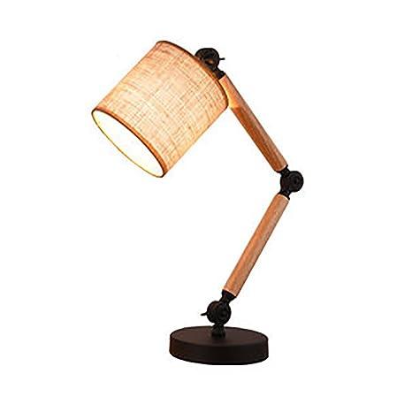 JIEJING Lámpara de mesa para mesa de estudio,Estiramiento ...