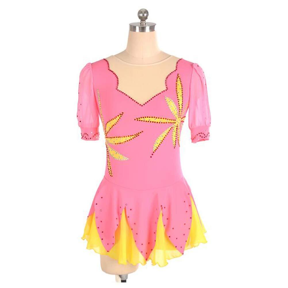 XIAOY Eislaufen Eislaufen Eislaufen Wettbewerb Professional ärmellos Kostüm Rollschuhkleid Eiskunstlauf Kleid für Mädchen B07P3TH75M Bekleidung Starke Hitze- und HitzeBesteändigkeit 4ed152