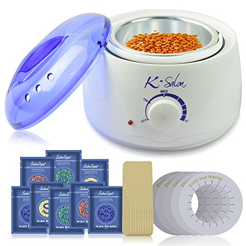 K-SALON Wax Warmer, Hair Removal Wax Heater at Home Personal Use