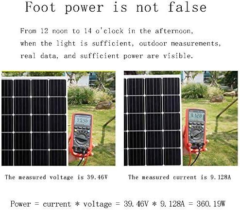 zhangchao Solar-Panel, Power Board Solar Panel 24V Photovoltaik-Anlage Heim Small Außen Charging Vorstand,365w solar Panel