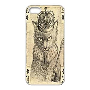 Fable Cat IPhone 5,5S Case, Jumphigh - White by ruishername