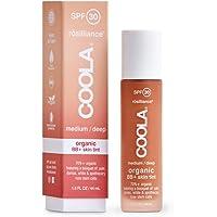 Coola Rosilliance Organic BB Cream SPF 30 - Medium/Dark by Coola for Unisex - 1.5 oz Cream, 44 ml