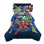 Marvel Avengers Children's Bedding, Blue Circle