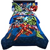 Marvel Avengers Blue Circle Reversible Comforter, Twin/Full