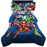 Marvel Avengers Blue Circle Reversible Comforter, Twin/Full
