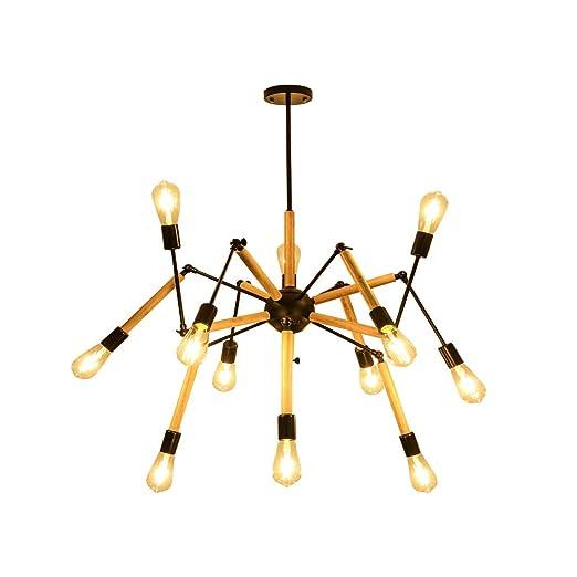 Lámpara Colgante De Techo Iluminación Decorativa Forma de araña de ...