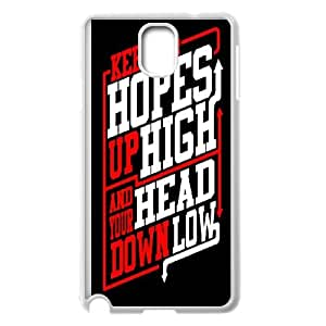 Samsung Galaxy Note 3 Cell Phone Case White Rock Band ADTR A Day To Remember EG6551370