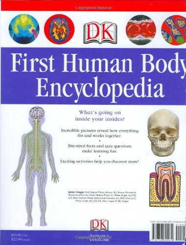 First Human Body Encyclopedia Dk First Reference Dk