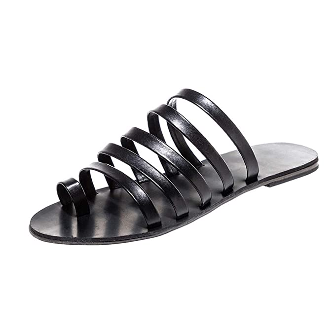 21d7a36fc2473 Amazon.com: Sandals for Women Wide Width,Spring Summer Fashion Flat ...
