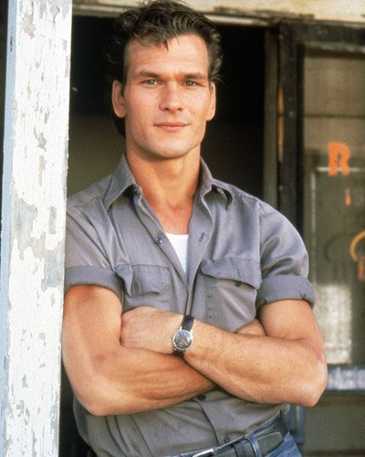 The Outsiders Patrick Swayze handsome portrait 8x10 Promotional Photograph