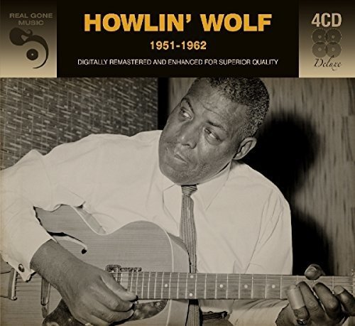 CD : Howlin' Wolf - 1951-1962 (Germany - Import, 4 Disc)