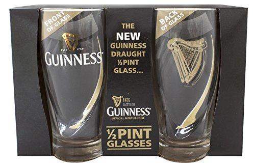- Guinness Half Pint Glasses - Livery Design by Guinness