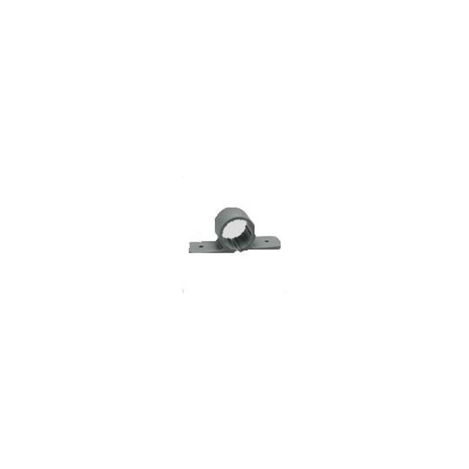 Oatey 33877 Standard Pipe Clamp (6 in Polybag), Gray, 1-Inch