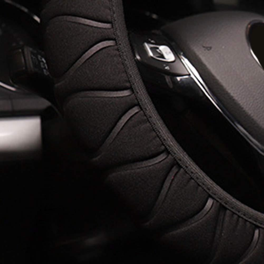 coprivolante per Elastico Durevole Universale RENNICOCO Coprivolante Auto coprivolante 37-38 cm